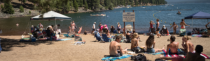 Recreation Area 2 Beach 4th ofjuyl